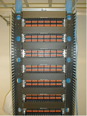 Structured Cabling front view.