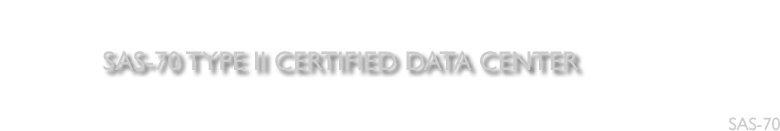 Millennium Solutions Inc. is SAS 70 Type II certified Data Center.