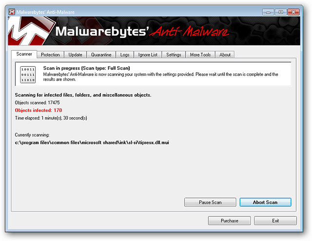 Remove Malware and Viruses with Malwarebytes